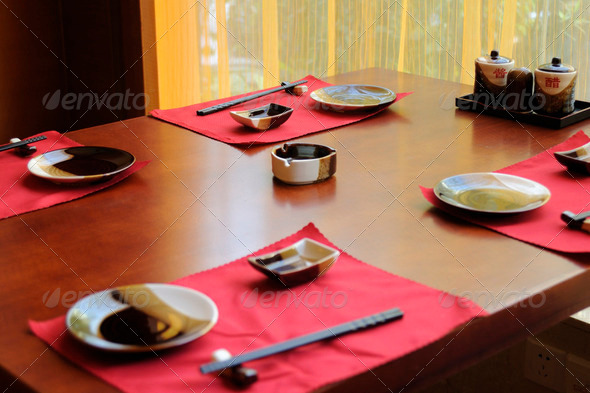 table set - Stock Photo - Images