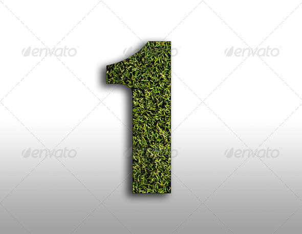 Number one - Stock Photo - Images