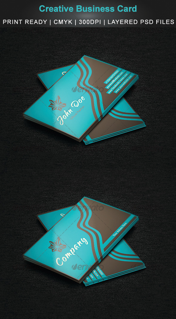 GraphicRiver Creative Business Card 3 3331544