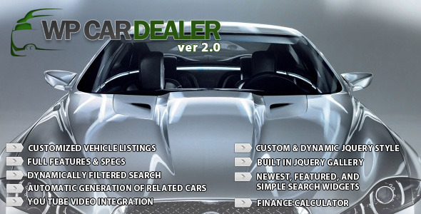 CodeCanyon WP Car Dealer 2851354