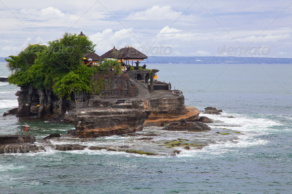 Tanah Lot Temple - Stock Photo - Images