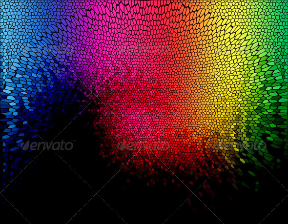 Abstract spectrum background - Stock Photo - Images