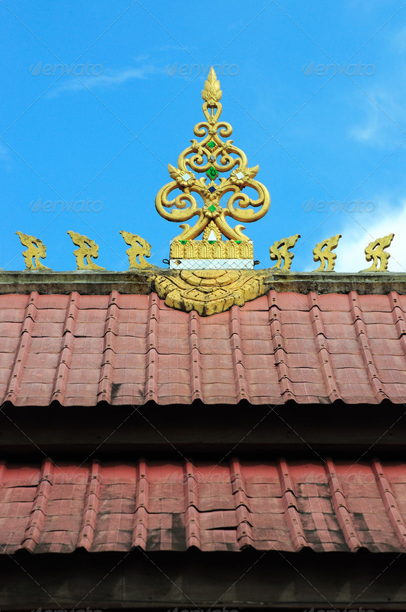 Detail of the roof - Stock Photo - Images