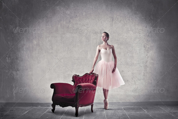 Prima ballerina - Stock Photo - Images