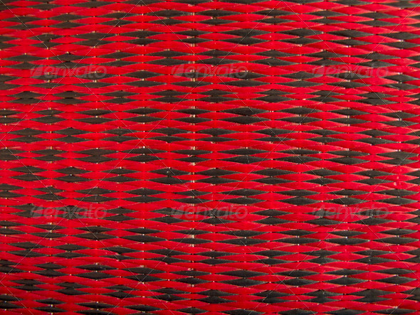 Texture of red and black mat - Stock Photo - Images