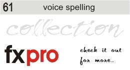 61. Voice Spelling