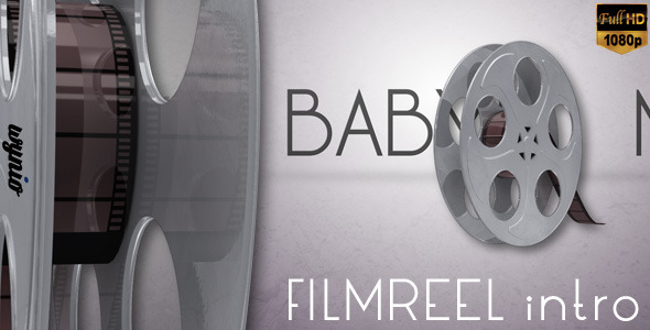 After Effects Project - VideoHive Film Reel Logo Intro 3346581
