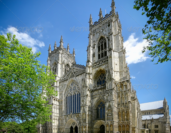York Cathedral UK - Stock Photo - Images