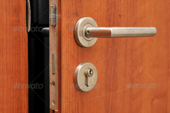 Door handle - Stock Photo - Images