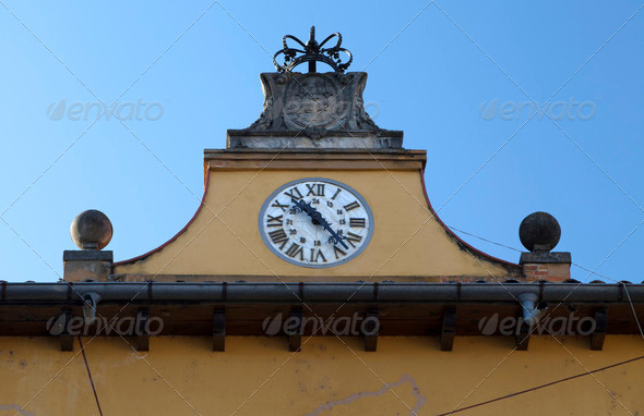Tordesillas Plaza Mayor - Stock Photo - Images