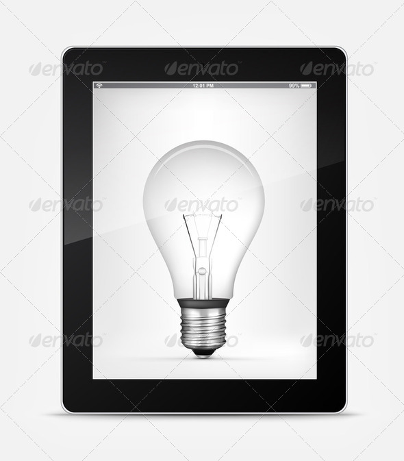 Vector Bulb - Stock Photo - Images
