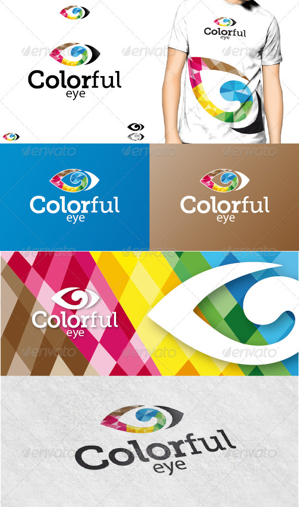 GraphicRiver Colorful Eye Logo 3346755