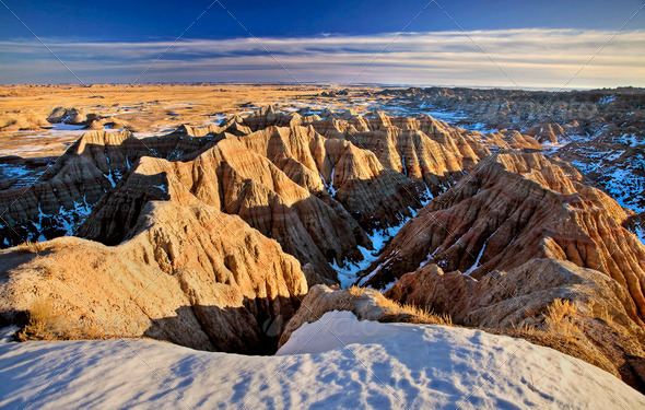 South Dakota Badlands - Stock Photo - Images
