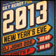 Urban New Year Party Flyer/Poster - GraphicRiver Item for Sale