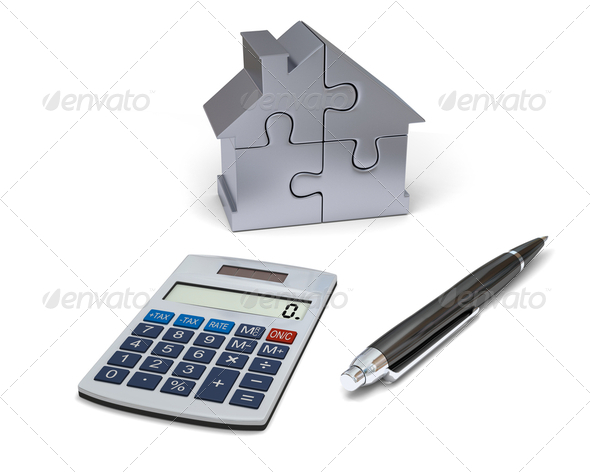 House financing - Stock Photo - Images