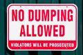 No Dumping Allowed - PhotoDune Item for Sale