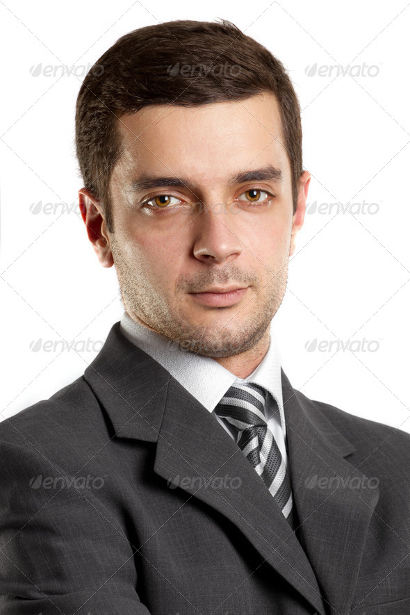 Businessman In Suit - Stock Photo - Images