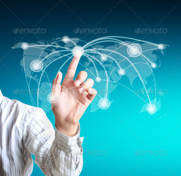PhotoDune Global Networking Concept 2323039