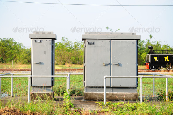 Electrical Control Box  - Stock Photo - Images