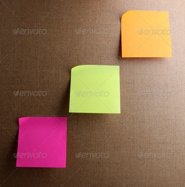 Sticky Notes - Stock Photo - Images