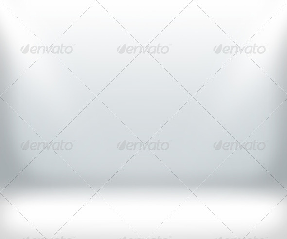 White Show Room Background - Stock Photo - Images