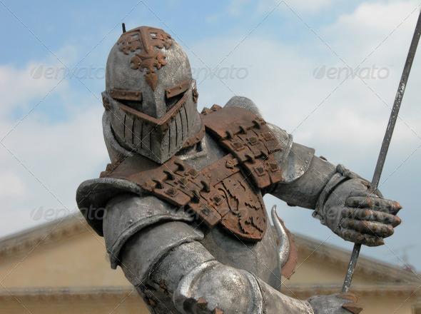 Warrior Armour, Verona, Italy, 2004 - Stock Photo - Images