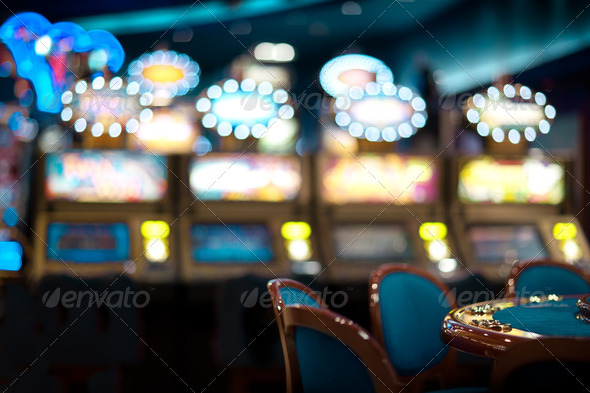 still life in a casino - Stock Photo - Images