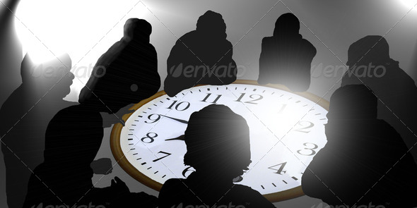 Secret business meeting - Stock Photo - Images