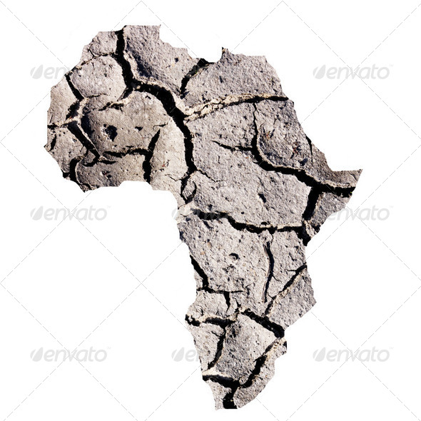 Africa drought - Stock Photo - Images