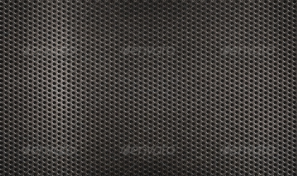 metal grid grunge industrial  background  - Stock Photo - Images