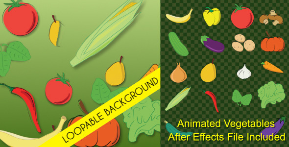 Vegetables Animations