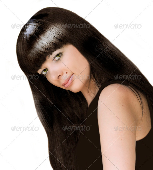 Young beautiful girl - Stock Photo - Images