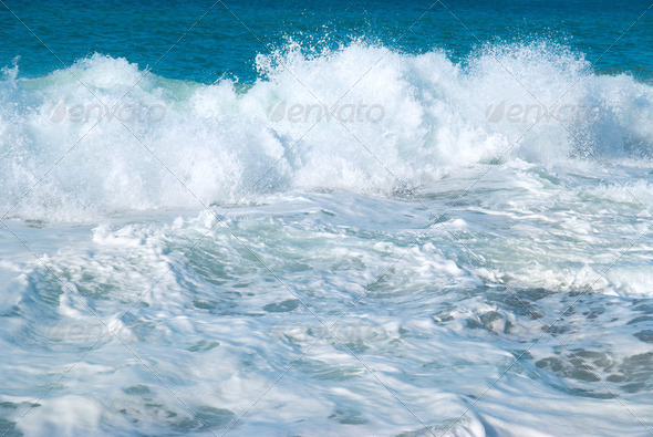 Big wave - Stock Photo - Images