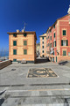 square in Sori, Italy