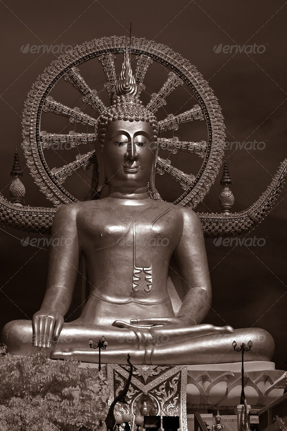 The Big Buddha - Stock Photo - Images