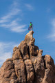 Climber on the summit. - PhotoDune Item for Sale