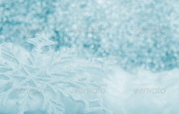 Snowflake big closeup - Stock Photo - Images