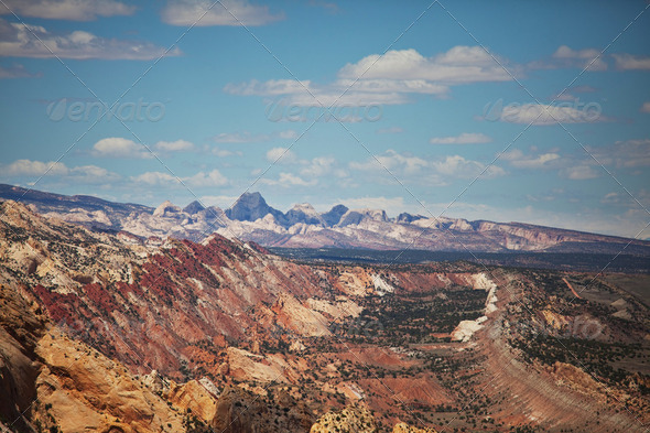 American mountains - Stock Photo - Images