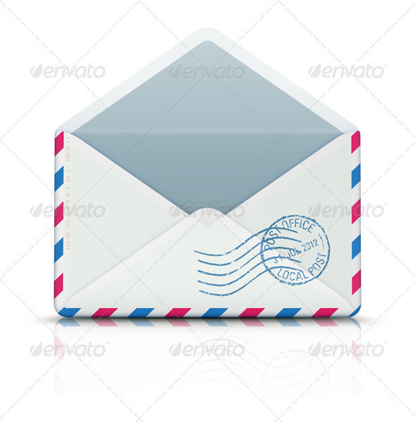 GraphicRiver Airmail envelope 3349858