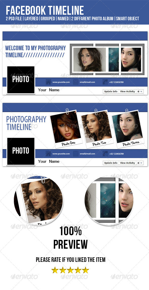 GraphicRiver Fresh&Clean FB Timeline Cover Image 3349905