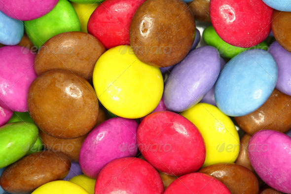 colorful candy - Stock Photo - Images