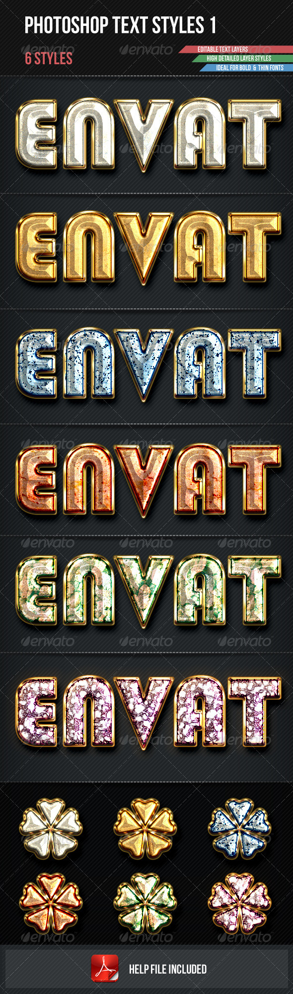 GraphicRiver Photoshop Text Styles 1 3300422