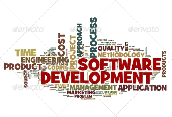 PhotoDune Software development concept in tag cloud 2349905