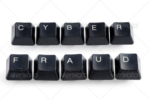 cyber fraud - Stock Photo - Images
