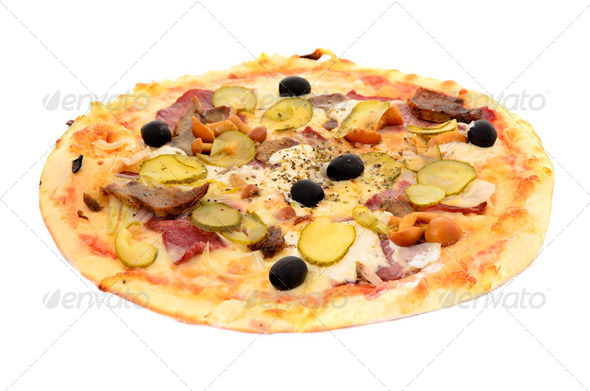 Supreme pizza - Stock Photo - Images