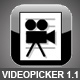 VideoPicker v1.1 - Video player with playlist - ActiveDen Item for Sale