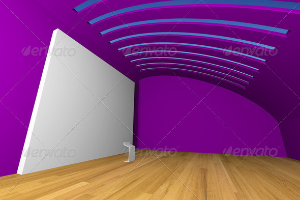 violet gallery - Stock Photo - Images