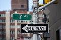 Classic Street Signs in New York City