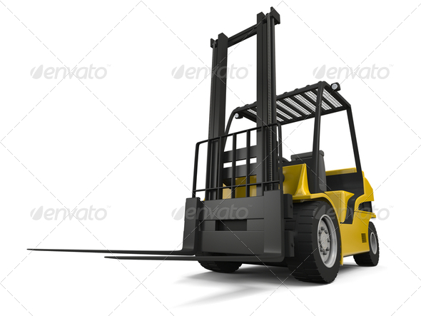 Forklift - Stock Photo - Images