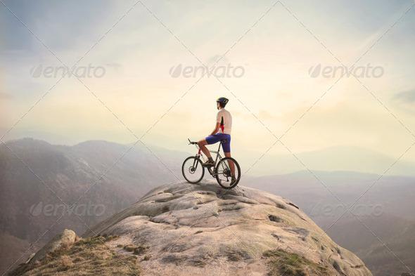 PhotoDune Mountain peak 2359666